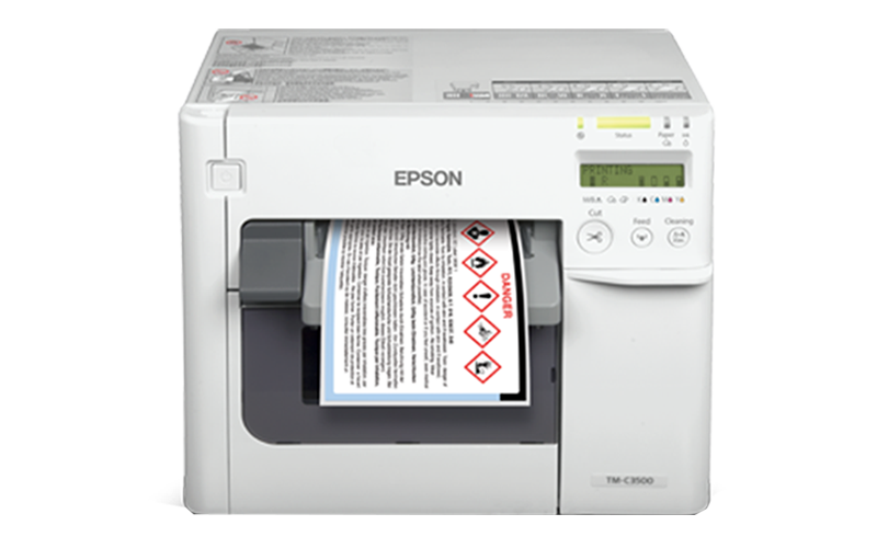 Hospital and Pharmacy - Epson ColorWorks™ C3510