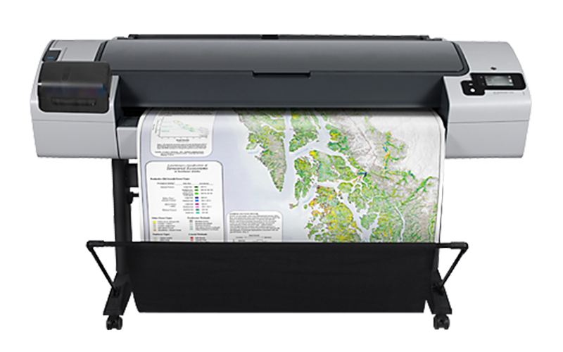 Infrastructure Oil Gas and Telecommunication - HP DesignJet T795